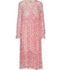 axelle jurk knielengte roze baum und pferdgarten