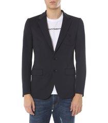 dolce & gabbana slim fit jacket