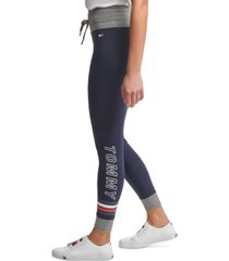 tommy hilfiger sport high-rise full length leggings