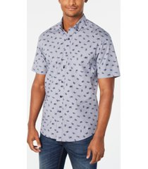 club room men's lyden turtle graphic shirt, created for macy's