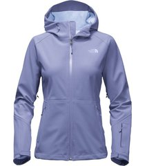 northface women's blue apex flex gtx weatherproof hooded  fit rain jacket