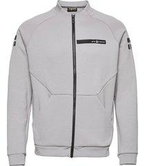 race tech zip jacket sweat-shirt tröja grå sail racing