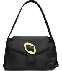 billow nylon bags top handle bags zwart hvisk