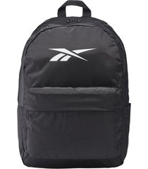 maleta training reebok linear logo - negro-blanco