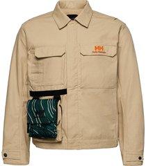 heritage carpenter jacket overshirts beige helly hansen