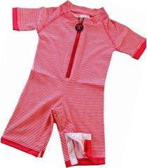 kostium kąpielowy red stripe