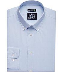 joe joseph abboud repreve® blue check dress shirt