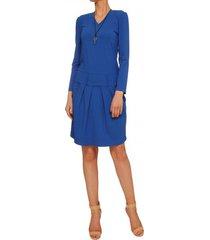 sukienka niebieska