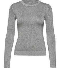 desiree sweater stickad tröja grå guess jeans