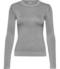 desiree sweater stickad tröja grå guess jeans