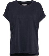 kajsa t-shirt t-shirts & tops short-sleeved blå culture