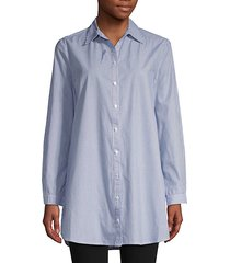 one line day cotton shirt