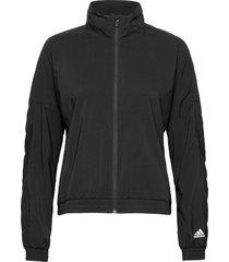 woven badge of sport jacket w outerwear sport jackets zwart adidas performance