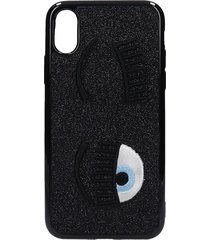 chiara ferragni iphone / ipad case in black pvc