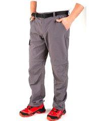 pantalon desmontable chalten gris kilimanjaro