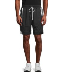puma men's court mesh shorts - black - size xl