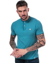 pretty green mens stockton knit g-dad t-shirt size 2xl in blue