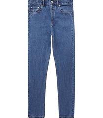 a.p.c fairfax jeans   blue   m09156-iaa