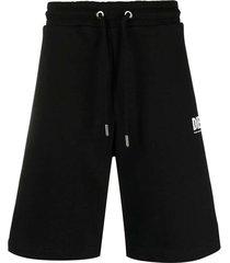crown logo sweat shorts