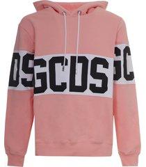 gcds band logo hoodie