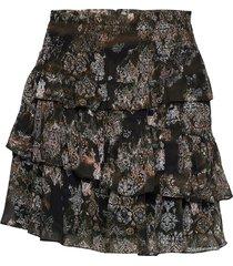 herty kort kjol svart iro