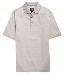 traveler collection traditional fit pin dot short-sleeve men's polo shirt clearance