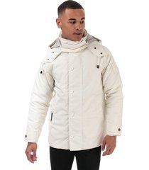 mens classic consort big logo heavy oxford jacket
