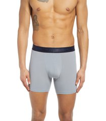 ted baker london boxer briefs, size x-large in silver sconce at nordstrom