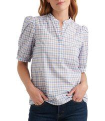 lucky brand cotton popover poet top