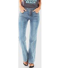 jeans maui and sons azul - calce ajustado