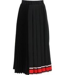 n.21 pleated midi skirt