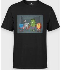 koszulka superhero elements
