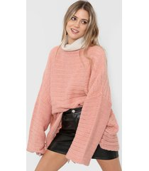 sweater rosa clostudio