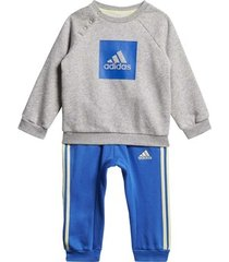 trainingspak adidas 3-stripes fleece joggingpak
