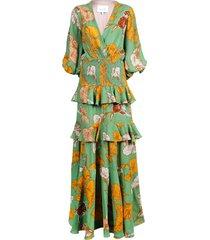 voila, its art maxi dress