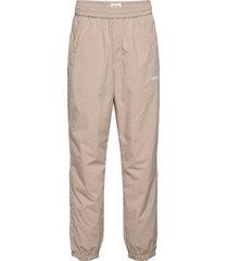 hampus trousers casual byxor vardsgsbyxor beige wood wood