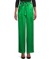 bobby silk paperbag pants