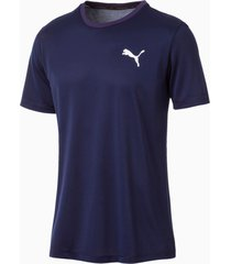 active t-shirt voor heren, blauw, maat xl | puma