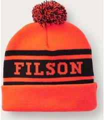 filson acrylic logo beanie |orange| 20120734-orn