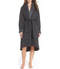 women's ugg duffield ii robe, size x-small - black