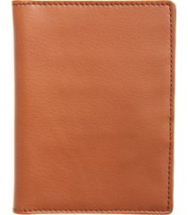 men's shinola leather passport wallet - brown