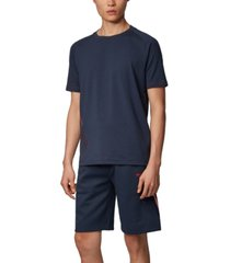 boss men's tl-tech stretch-cotton t-shirt