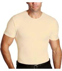 men's big & tall insta slim compression short sleeve crew-neck t-shirt