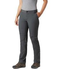 pantalon nylon mujer silver ridge 2 conve gris columbia