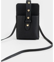 lola cellphone string wallet - black