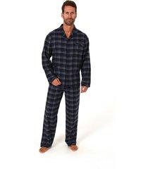 heren pyjama flanel 64290-50