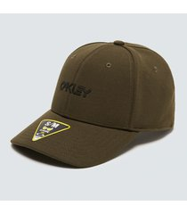 gorra oakley 6 panel stretch metallic