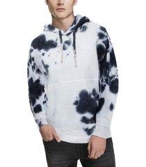 men's tie dye pullover hoodie