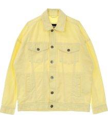 giubbotto oversize garment dye jacket