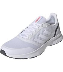 tenis blanco adidas nova flow cloud white / cloud white / grey six eh1362